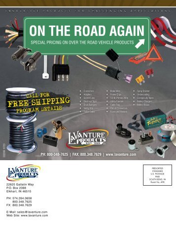 ON THE ROAD AGAIN - LaVanture Products