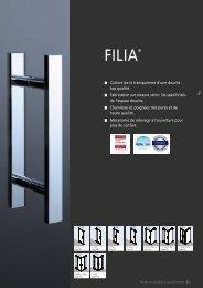 la collection 2013 - filia - Roth France