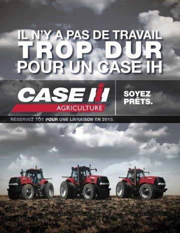 brochure modèles case ih - Centre Agricole.ca