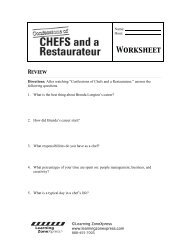 Worksheet - Learning Zone Express