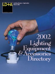 Lighting Design + Application March 2002 - Illuminating Engineering ...