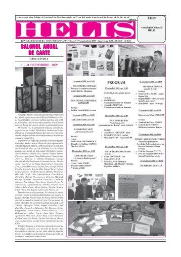 Helis septembrie 2009.pmd - Revista HELIS