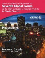Proceedings - Home - World Federation of Hemophilia