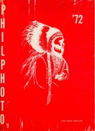 Phillips 1972 Yearbook Part 1 - History Of MPS