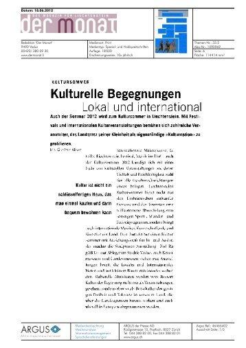 Der Monat - Bad Ragartz