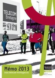 Le Mémo 2013 (pdf) - Télécom Bretagne