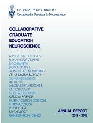 Vol 27 Num(2) - Program in Neuroscience, University of Toronto