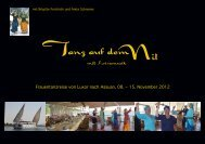 Flyer >>>> Tanz am Nil - Franklin-Methode