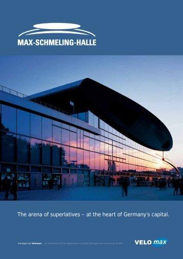 Image Brochure as PDF - Max-Schmeling-Halle