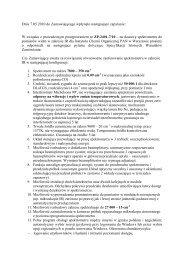Pytania 1 z dn. 7.05.2010 r. - Instytut Chemii Organicznej PAN