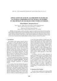 application of genetic algorithms to increase an overall performance ...
