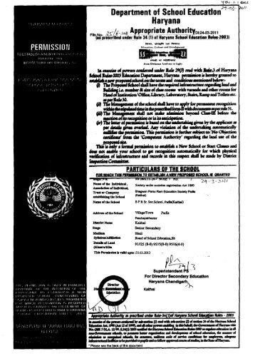 Department of School Educatitor Haryana - Directorate of School ...