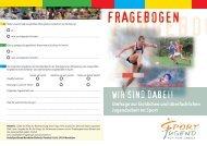 Fragebogen - Jugendserver Niedersachsen