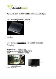 22 x LG 32LD320 TV Fernseher 81cm - Produsa