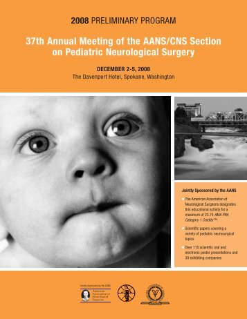 37th Annual Meeting of the AANS/CNS Section on Pediatric ...