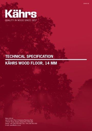 Kährs 14 mm - Wood Flooring