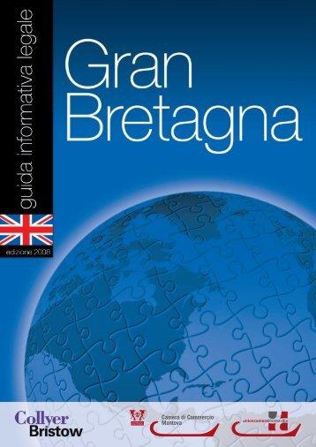GranBretagna - Camera di Commercio di Mantova - Camere di ...