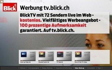 Blicktv mit 72 Sendern live im Web