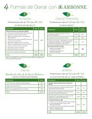 Formas de Ganar con - Beaty Nation | Arbonne | Pure and Safe Health
