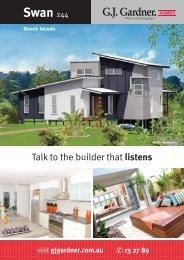 Swan 244 - G.J. Gardner Homes