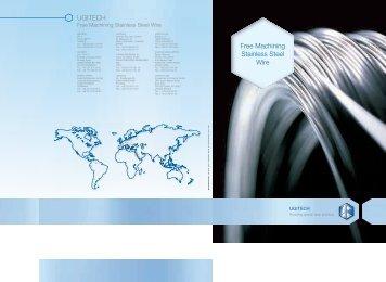 Free Machining Stainless Steel Wire UGITECH - SCHMOLZ ...