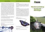 Infoflyer - BUND Neckar-Alb