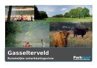 ruimtelijke ontwikkelingsvisie Gasselterveld - Provincie Drenthe