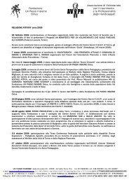 Associazione di Volontariato Fondazione per l'Inserimento Un ...