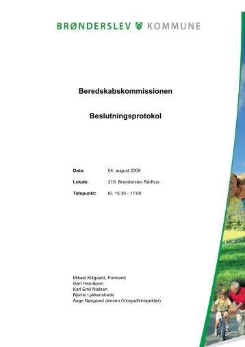 04-08-2009 - Brønderslev Kommune