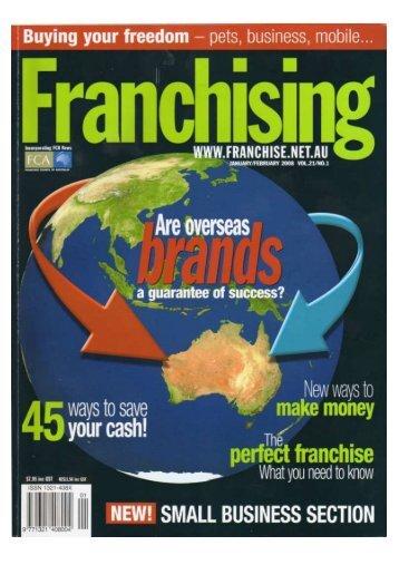 Franchising Mag small.pdf - Fritz Gelato