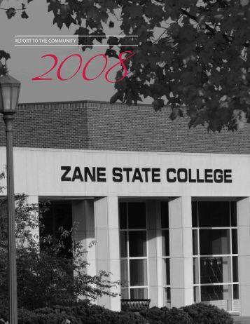 REPORT TO THE COMMUNITY - Zane State College