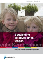 Praktische pedagogische thuisbegeleiding - Kempenhaeghe