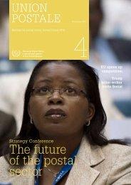 Union Postale magazine, December 2010 - UPU - Universal Postal ...