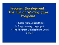 Program Development: The Fun of Writing Java ... - schmiedecke.info