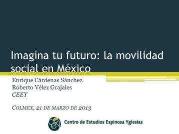 Desarrollo humano y movilidad social: conceptos y algunos ... - Inegi