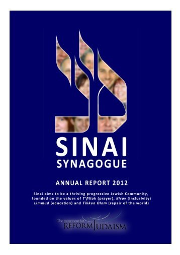Anna Dyson - Sinai Latest News - Sinai Synagogue