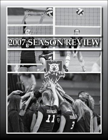 2007 SEASON REVIEW - Weber State University Athletics