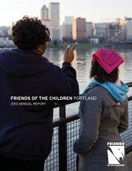 2010 Annual Report - Friends of the Children