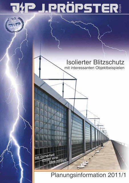 Isolierter Blitzschutz