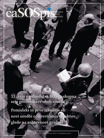 ČaSOSpis januar, februar, Marec 2013 - Skupnost občin Slovenije