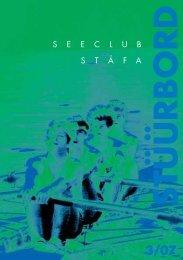 Stüürbord Ausgabe 2007-03 - Seeclub Stäfa