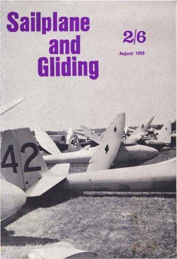 Sailplane & Gliding 1959 - Lakes Gliding Club