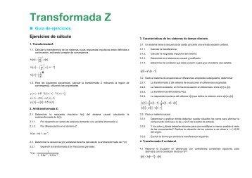 Transformada Z