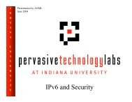 IPv6 and Security