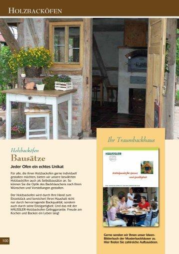 Holzbacköfen Bausätze - Kaminofen-Shop.de