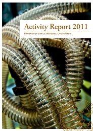Activity Report 2011 - Kemiteknik