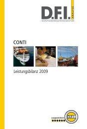 Leistungsbilanz 2009 - CONTI Unternehmensgruppe
