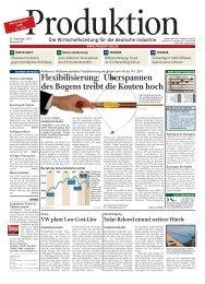 Ausgabe - 38 - 2010 - Produktion.de