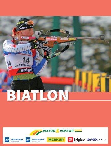 Biatlon - Modra kartica