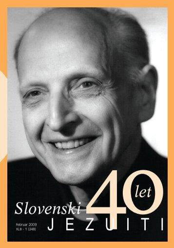 Slovenski jezuiti februar 2009